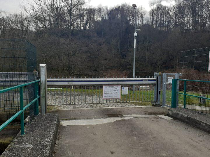 Neue Zugangsregelung auf der Wasserwerk Insel